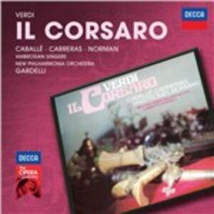 CD Il corsaro di Giuseppe Verdi