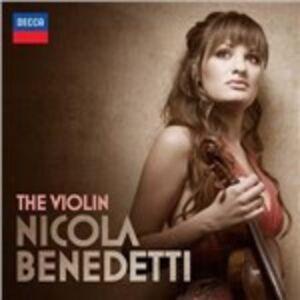 Foto Cover di Il violino, CD di Nicola Benedetti, prodotto da Decca