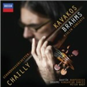 CD Concerto per violino - Danze ungheresi Johannes Brahms , Bela Bartok
