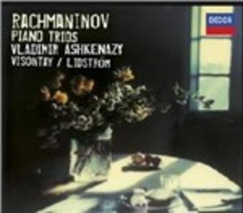 CD Trii con pianoforte di Sergei Vasilevich Rachmaninov