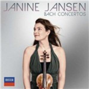 CD Concerti per violino n.1, 2 - Concerto per oboe e violino BWV 1060R - Sonate per violino e cembalo n.3, 4 di Johann Sebastian Bach