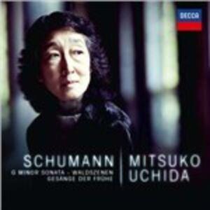 Foto Cover di Sonata per pianoforte n.2 - Waldszenen - Gesänge der Frühe, CD di Robert Schumann,Mitsuko Uchida, prodotto da Decca