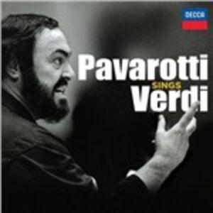 CD Pavarotti Sings Verdi di Giuseppe Verdi