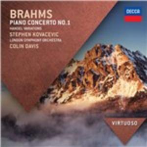 CD Conc. per pianoforte n.1 - Variazioni su un tema di Händel di Johannes Brahms