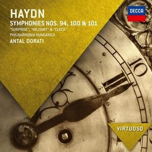 CD Sinfonie n.94, n.100, n.101 di Franz Joseph Haydn