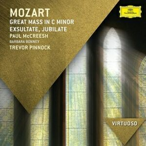 Foto Cover di Grande Messa in Do, CD di Wolfgang Amadeus Mozart,Paul McCreesh, prodotto da Deutsche Grammophon