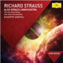 Così parlò Zarathustra (Also Sprach Zarathustra) - CD Audio di Richard Strauss,Giuseppe Sinopoli