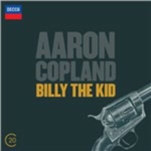 CD Billy the Kid - El Salon Mexico di Aaron Copland