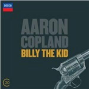 CD Billy the Kid - El Salon Mexico di Aaron Copland