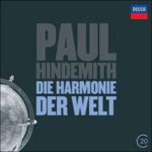 CD Sinfonia Die Harmonie der Welt - Ottetto di Paul Hindemith