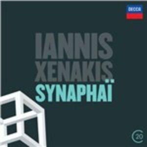 CD Synaphai - Aurora - Antikhthon - Keqrops di Iannis Xenakis