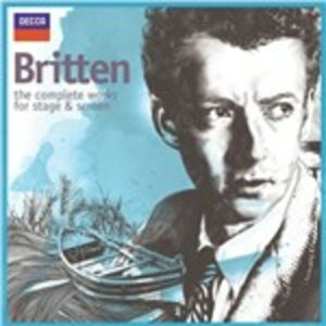CD Stage & Screen (Colonna Sonora) di Benjamin Britten