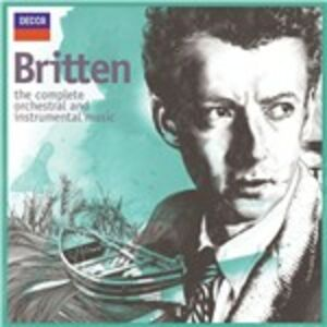 CD Instrumental Music di Benjamin Britten