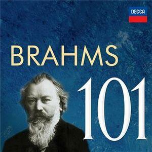 CD Brahms 101 di Johannes Brahms