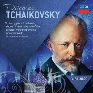 CD Discover Tchaikovsky di Pyotr Il'yich Tchaikovsky