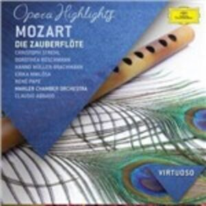 CD Il flauto magico di Wolfgang Amadeus Mozart