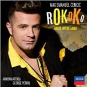 CD Rokoko. Arie d'Opera di Johann Adolph Hasse