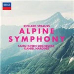 CD Sinfonia delle Alpi (Eine Alpensinfonie) di Richard Strauss