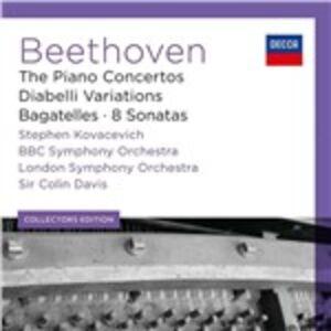 Foto Cover di Concerti per pianoforte - Variazioni Diabelli - 8 Sonate - Bagatelle, CD di AA.VV prodotto da Decca