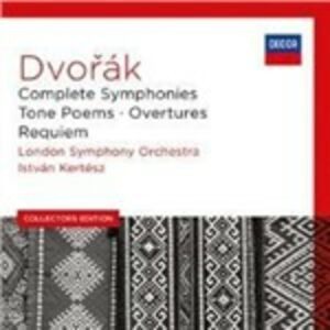 CD Sinfonie complete - Poemi Sinfonici - Ouvertures - Requiem di Antonin Dvorak