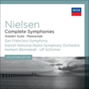 CD Sinfonie complete di Carl August Nielsen