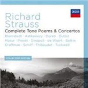 Foto Cover di Concerti e Poemi Sinfonici completi, CD di Richard Strauss, prodotto da Decca