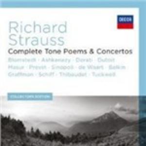 CD Concerti e Poemi Sinfonici completi di Richard Strauss