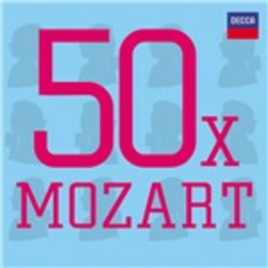 CD 50 X Mozart di Wolfgang Amadeus Mozart