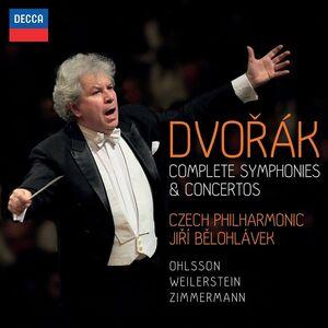 CD Concerti - Sinfonie di Antonin Dvorak