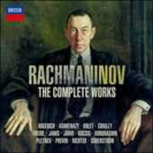 CD The Complete Works Sergei Vasilevich Rachmaninov