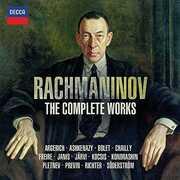CD The Complete Works Sergei Vasilevich Rachmaninov