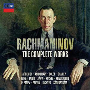 CD The Complete Works di Sergei Vasilevich Rachmaninov