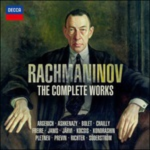 CD The Complete Works di Sergei Vasilevich Rachmaninov