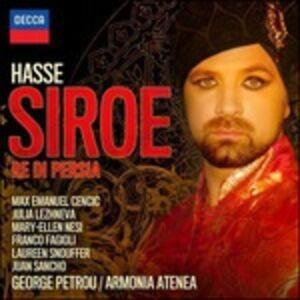 CD Siroe Re di Persia di Johann Adolph Hasse