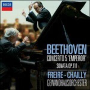CD Concerto per pianoforte n.5 - Sonata per pianoforte n.32 op.111 di Ludwig van Beethoven