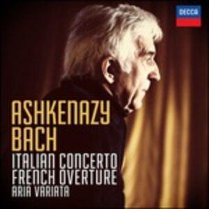 Foto Cover di Concerto Italiano BWV971 - Ouverture in stile francesce BWV831 - Aria variata BWV 989, CD di Johann Sebastian Bach,Vladimir Ashkenazy, prodotto da Deutsche Grammophon
