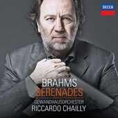 CD Serenate Johannes Brahms Riccardo Chailly Gewandhaus Orchester Lipsia