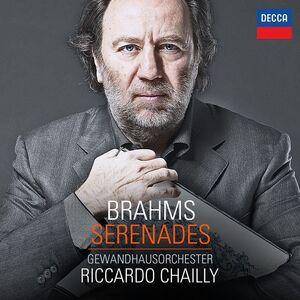 CD Serenate di Johannes Brahms