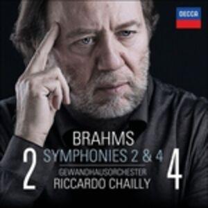 Foto Cover di Sinfonie n.2, n.4, CD di AA.VV prodotto da Decca