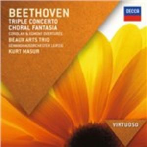 CD Concerto triplo - Fantasia corale di Ludwig van Beethoven