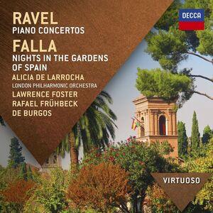CD Concerti per pianoforte / Notti nei giardini di Spagna Maurice Ravel , Manuel De Falla