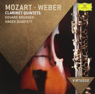 CD Quintetti per clarinetto Wolfgang Amadeus Mozart , Carl Maria Von Weber