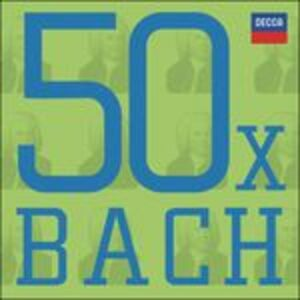 CD 50 X Bach di Johann Sebastian Bach