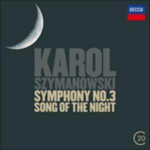 CD Sinfonie n.2, n.3 - Concerto per violino n.2 di Karol Szymanowski