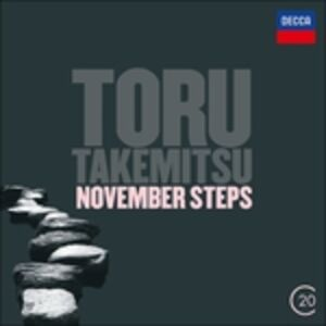 CD November Steps di Toru Takemitsu