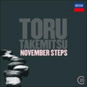 CD November Steps di Toru Takemitsu