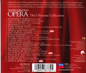 CD Opera. The Ultimate Collection di Andrea Bocelli 1