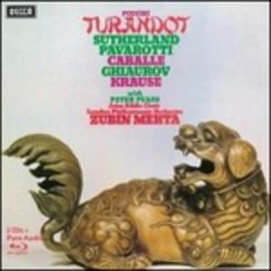 CD Turandot di Giacomo Puccini