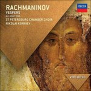 CD Vespri di Sergei Vasilevich Rachmaninov