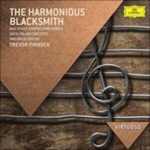 Foto Cover di The Harmonious Blacksmith. Musica per clavicembalo, CD di Trevor Pinnock, prodotto da Deutsche Grammophon